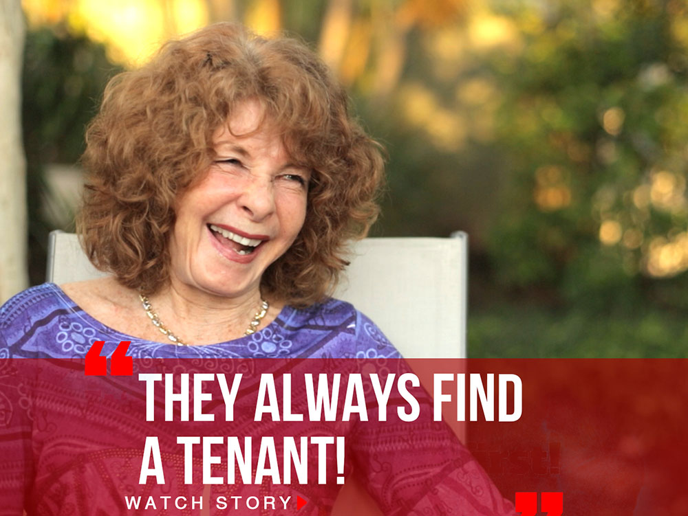 They always find a tenant
